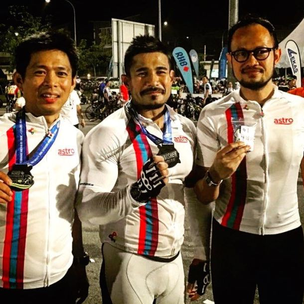 RHB Shimano Highway Ride LEKAS 2016 Astro Guys Khairul MS