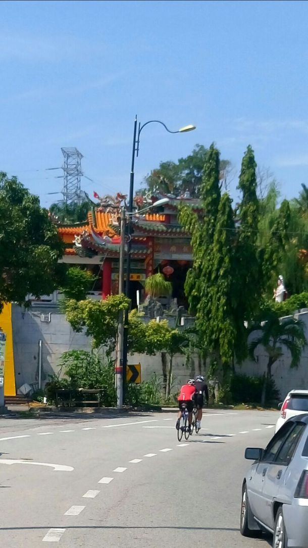 BCG Tour Kajang - Melaka - Kajang Day 1 PD Wan Loong Temple Leslie