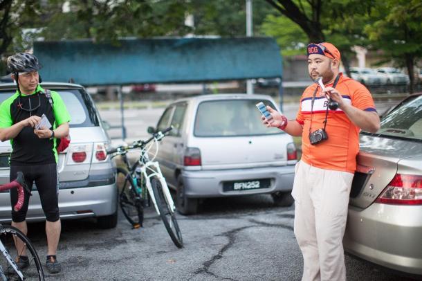 BCG Tour Kajang - Melaka - Kajang Day 1 Start Danial