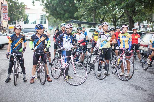 BCG Tour Kajang - Melaka - Kajang Day 1 Start Group 10