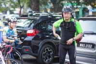 BCG Tour Kajang - Melaka - Kajang Day 1 Start Group 2