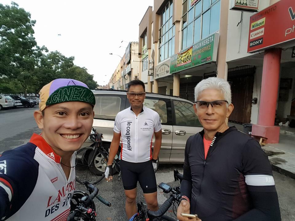 BCG Tour Kajang - Melaka - Kajang Day 1 Start Mark