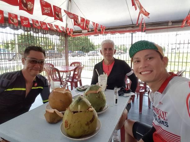 BCG Tour Kajang - Melaka - Kajang Day 2 Coconut Stall Mark