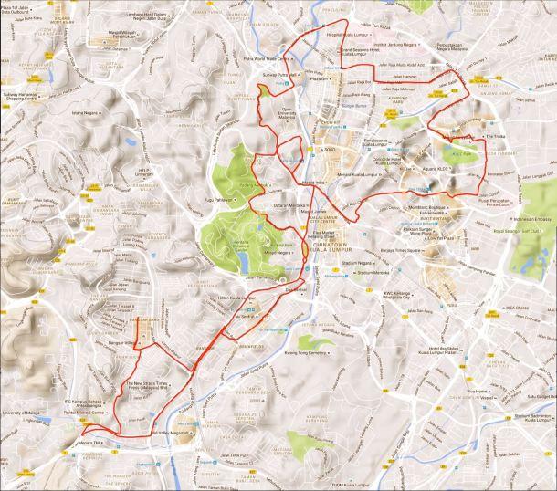 BCG Bangsar Route
