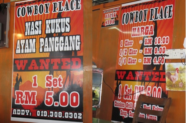 BCG Klang - PD - Day 1 Cowboy Place Menu sharinginfoz blogspot my