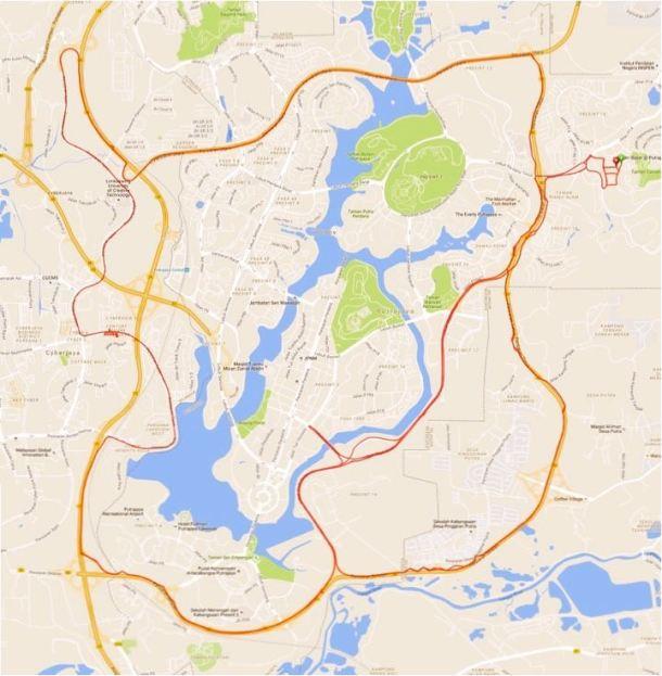 BCG Putrajaya Loop Route