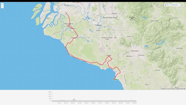 Relive Strava Map Screen