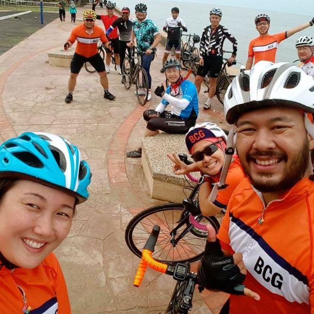 BCG Morib Ride at Morib Safwan Siddiq