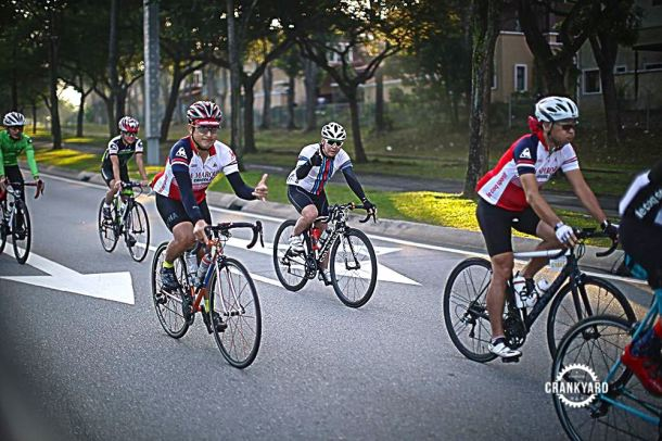 Putrajaya Century Ride 2016 Early 01 Crankyard
