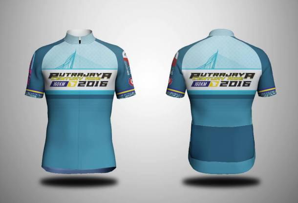 Putrajaya Century Ride 2016 Jersey
