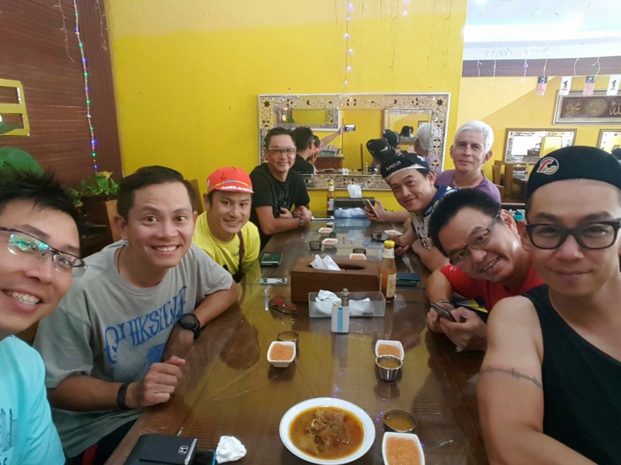 Putrajaya Century Ride 2016 Lunch 02 Mark