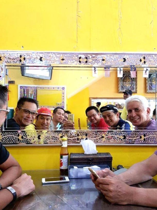 Putrajaya Century Ride 2016 Lunch Mark