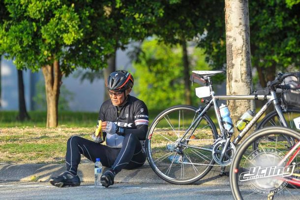 Putrajaya Century Ride 2016 Rest Break CM