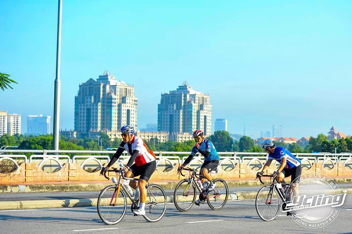 Putrajaya Century Ride 2016 Rolling 02 CM