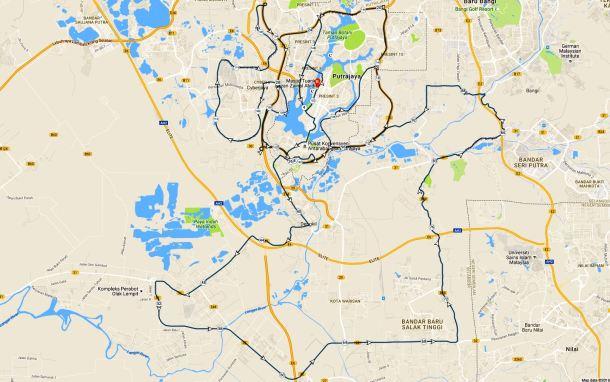 Putrajaya Century Ride 2016 Route 02
