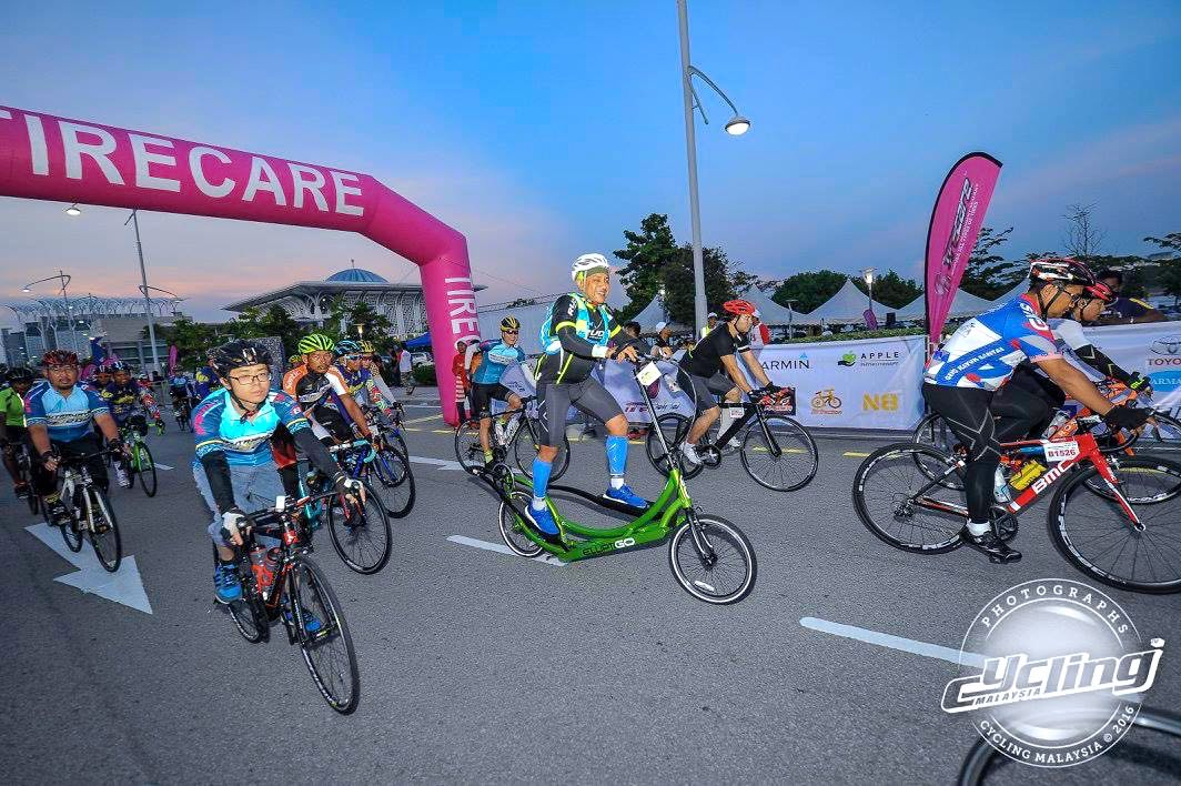Putrajaya Century Ride 2016 Start 08 CM