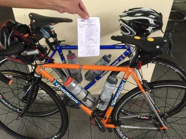 KKB Bikes Ticket Mark