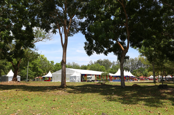 JMFR 2017 start finish tents