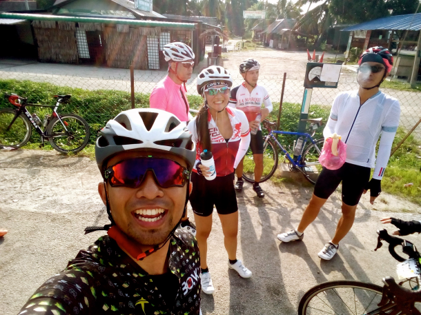 NST C-Cycle Challenge 2017 First Stop Danial Shaz