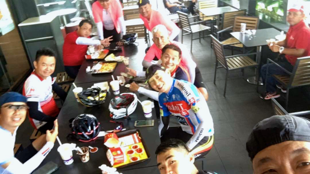 NST C-Cycle Challenge 2017 McDonald's Simon