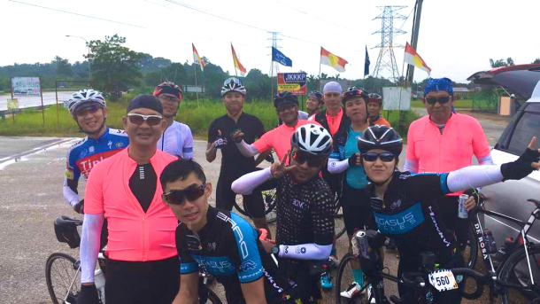 NST C-Cycle Challenge 2017 Water Stop 2 Simon