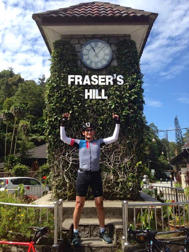 Fraser's Clock Tower Alfred Daniel Lim