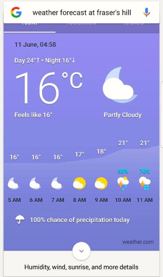 Fraser's Weather Lee Heng Keng