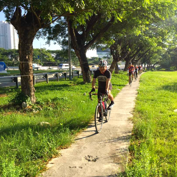 R@SKLs Penang Day 1 Bike Path 1 366 via TH Lee