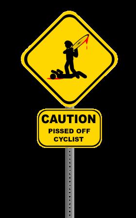Inconsiderate Bike Banner