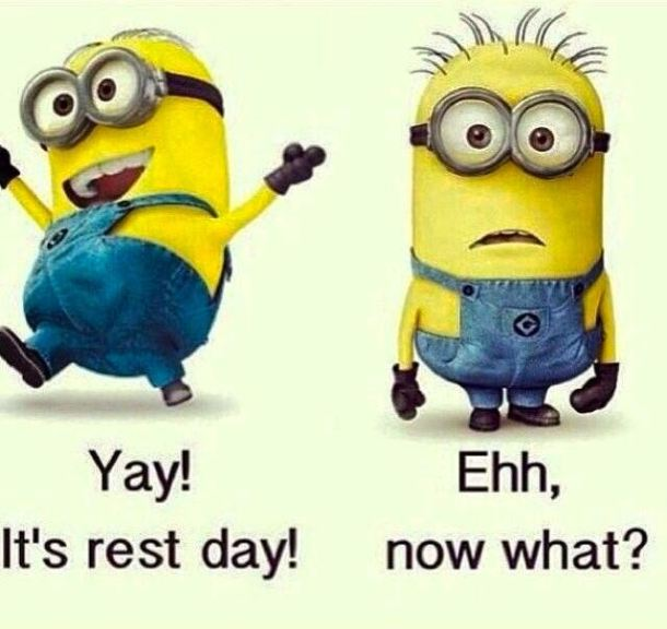 TdF Minions Rest Day