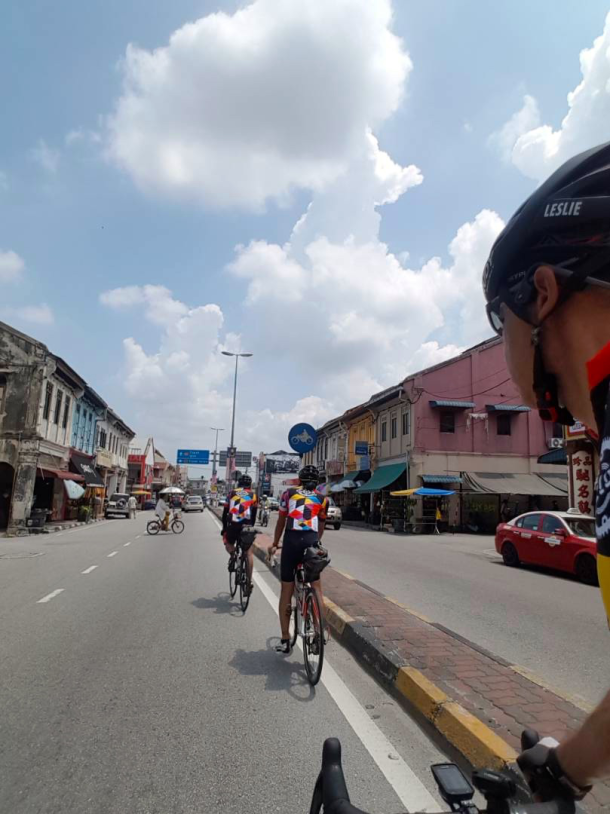 Friday PM Cycling to Penang Leslie Tong