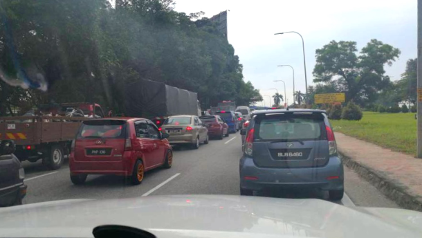 Friday PM Subang Traffic Pai