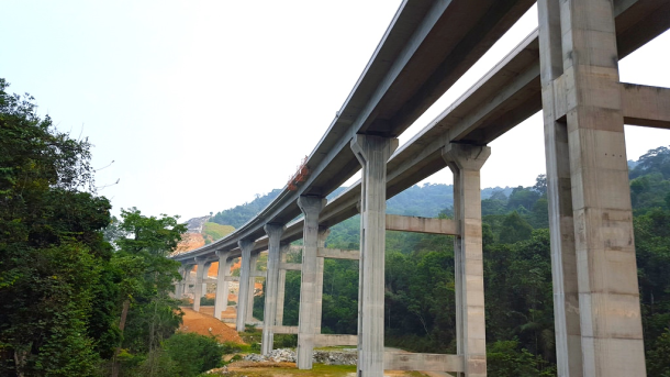 Rawang Bypass Elevated Section SkyscraperCity