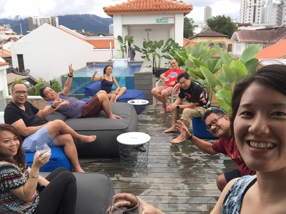 Saturday PM at the pool Tomoe Suga