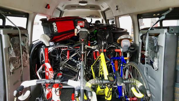Day 0 Bikes Packed Simon Soo Hu