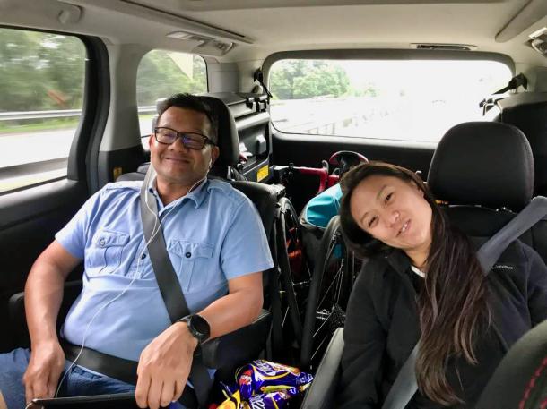 Day 1 Driving to Padang Besar Lee Kiam Woon