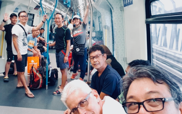 Day 1 MRT to Sungai Buloh TH Lim