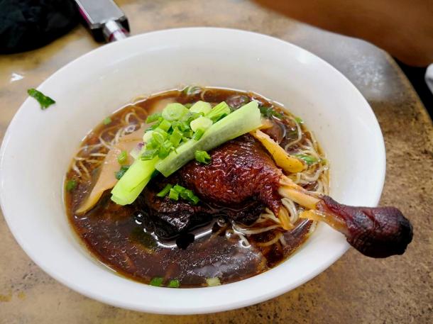 Keat Wong Duck Drumstick Noodles Marco
