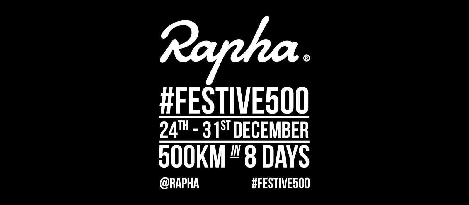 Rapha festive500 Banner