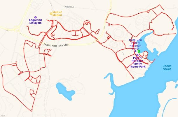 Iskandar Puteri Route