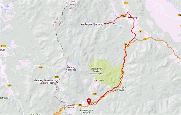 Chamang Route