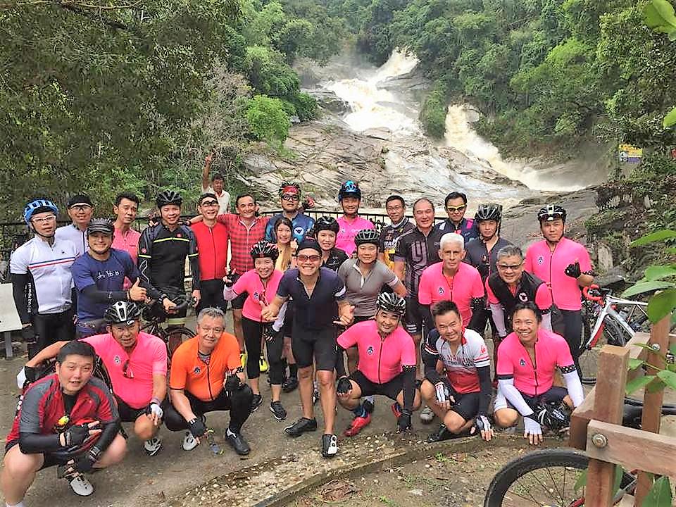 Chamang Waterfall Group Hsing C Pai