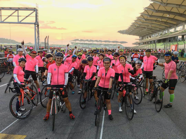 CIMB Challenge Ride 2018 Ready to Roll Johan Sopiee