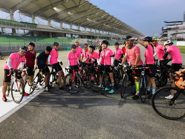 CIMB Challenge Ride 2018 Waiting for the Rest Simon Soo Hu