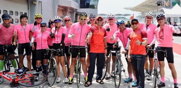 CIMB Challenge Ride 2018 Zafrul Azizul Lee Heng Keng