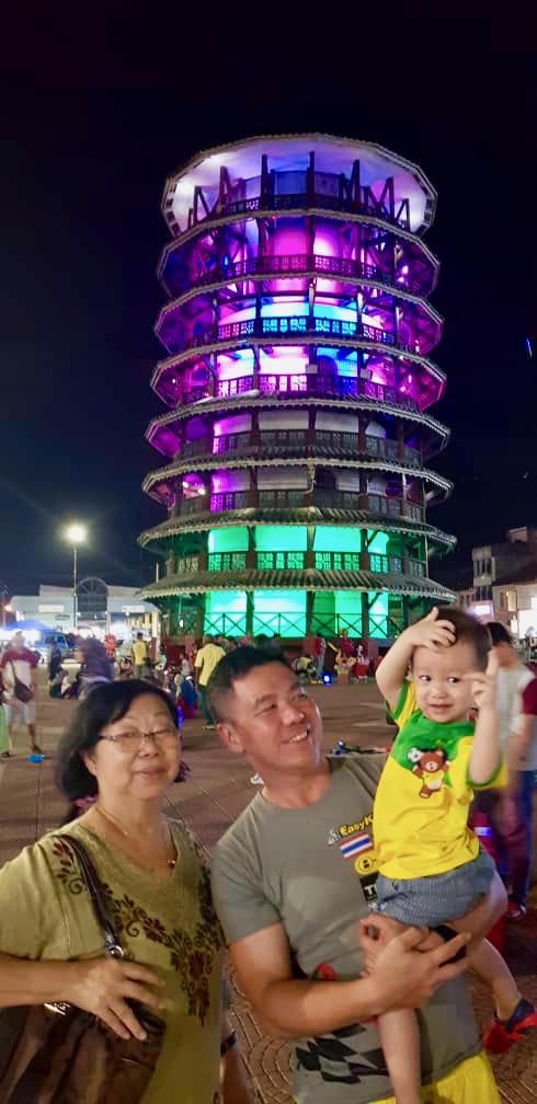 Teluk Intan Day 1 Menara Chondong 13 Lee Heng Keng