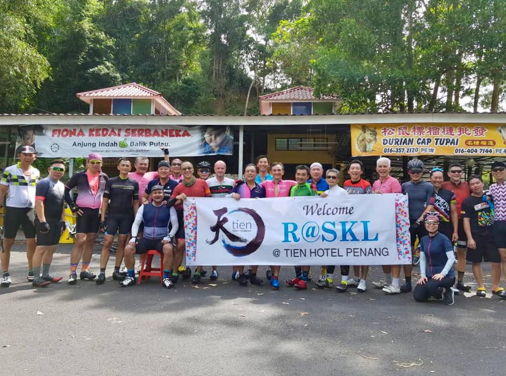 CFAL 2018 Day 1 Top of Tun Sardon Climb TH Lim