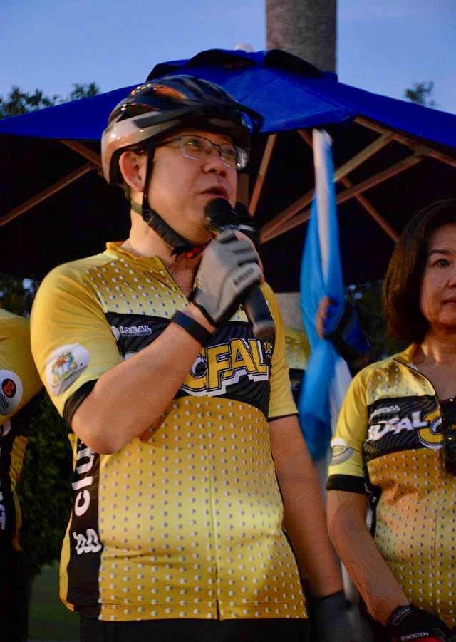 CFAL 2018 Day 2 Lim Guan Eng Cycling Plus Mag