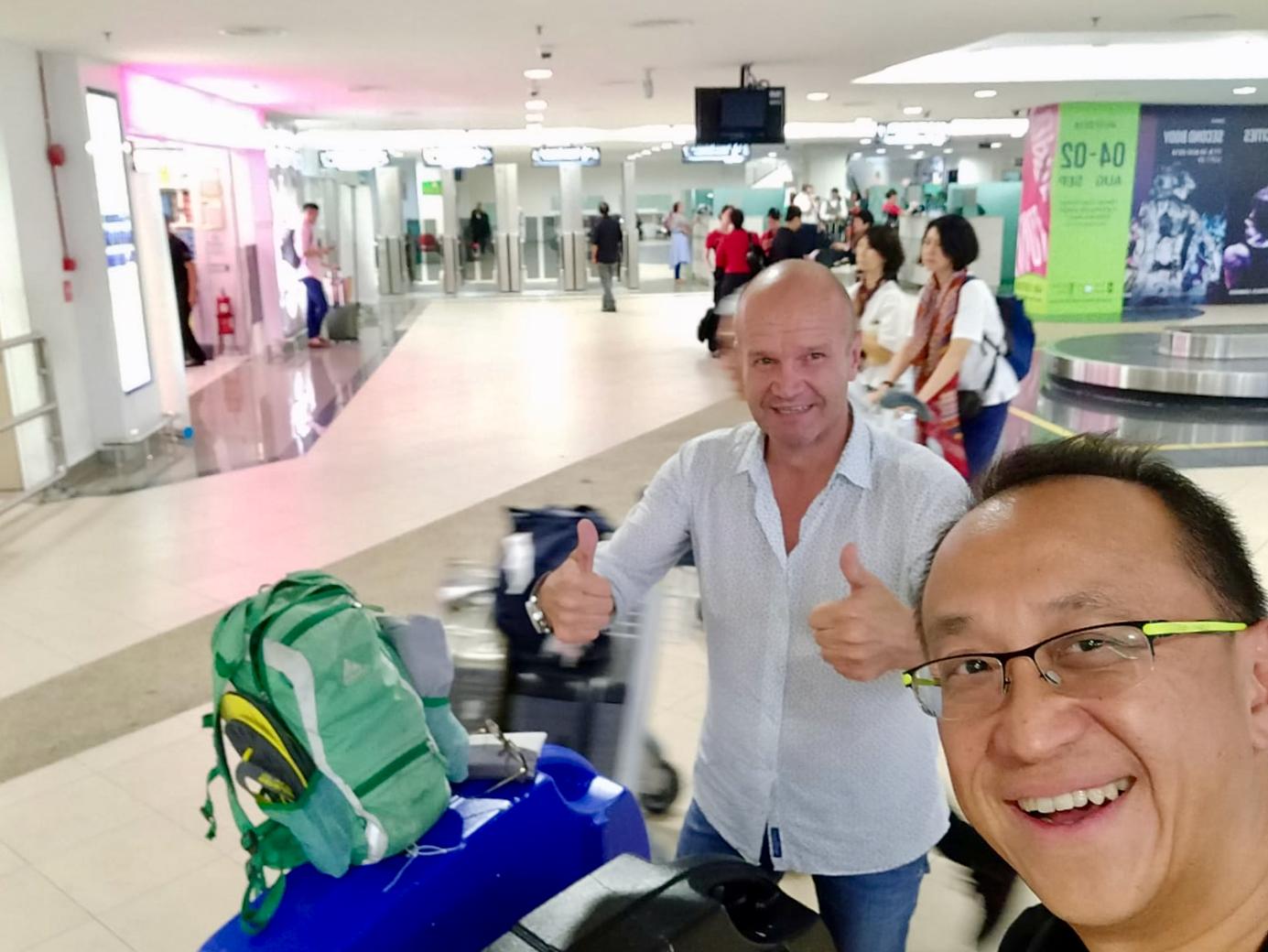 CFAL 2018 HK Arrivals Lai Voon Kiat