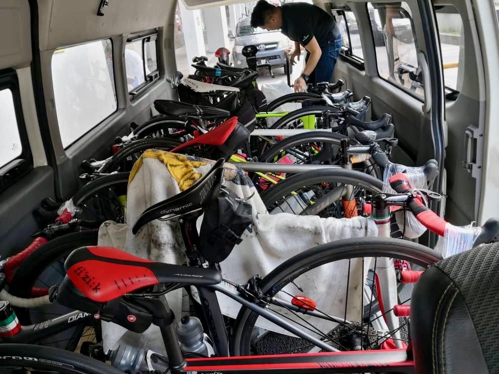 CFLA Prelude Loading Bikes Marco Lai